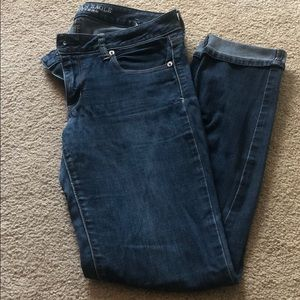 American Eagle Super Skinny Stretch Jeans size 10L